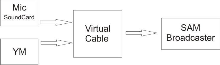 skema virtual cable