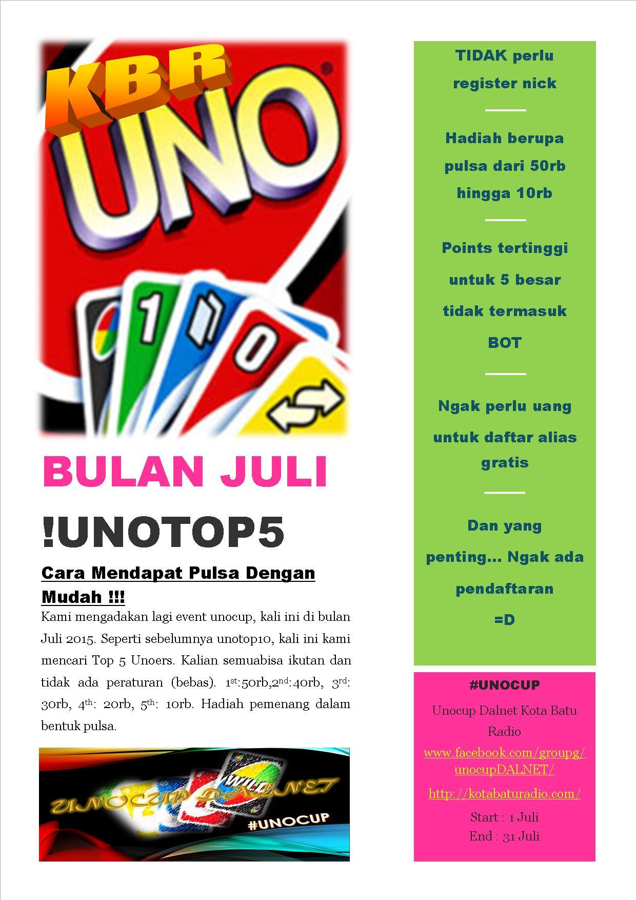 july event - unocup kbr