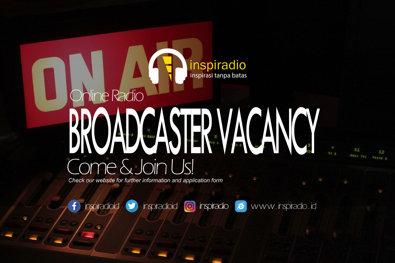 inspiradio-broadcaster vacancy